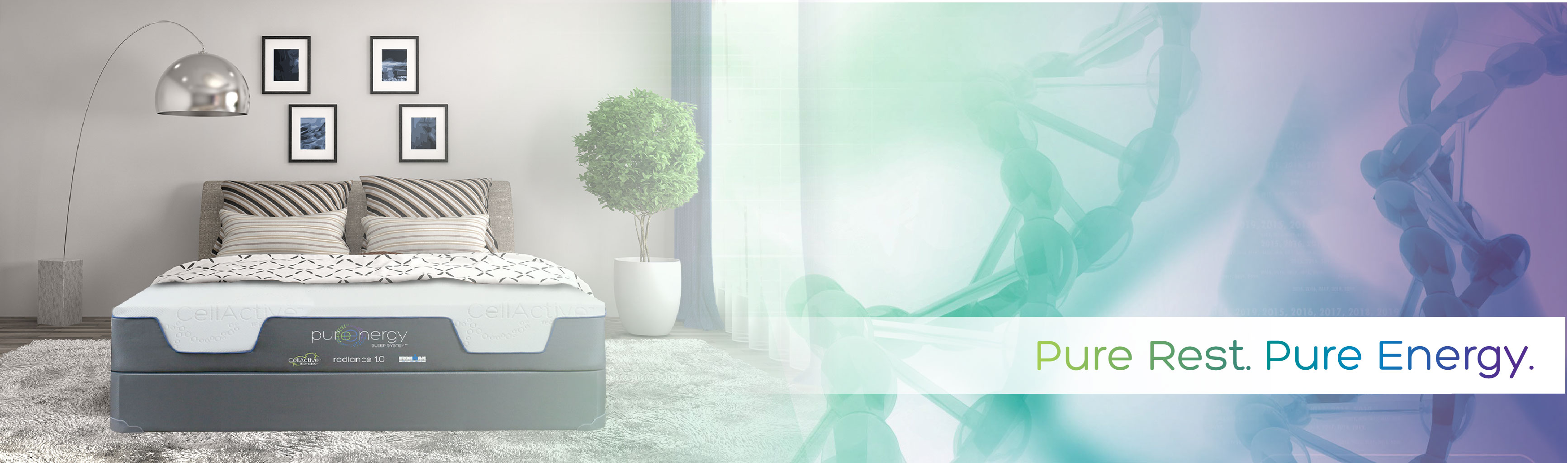 pure energy mattress can help you rest well
