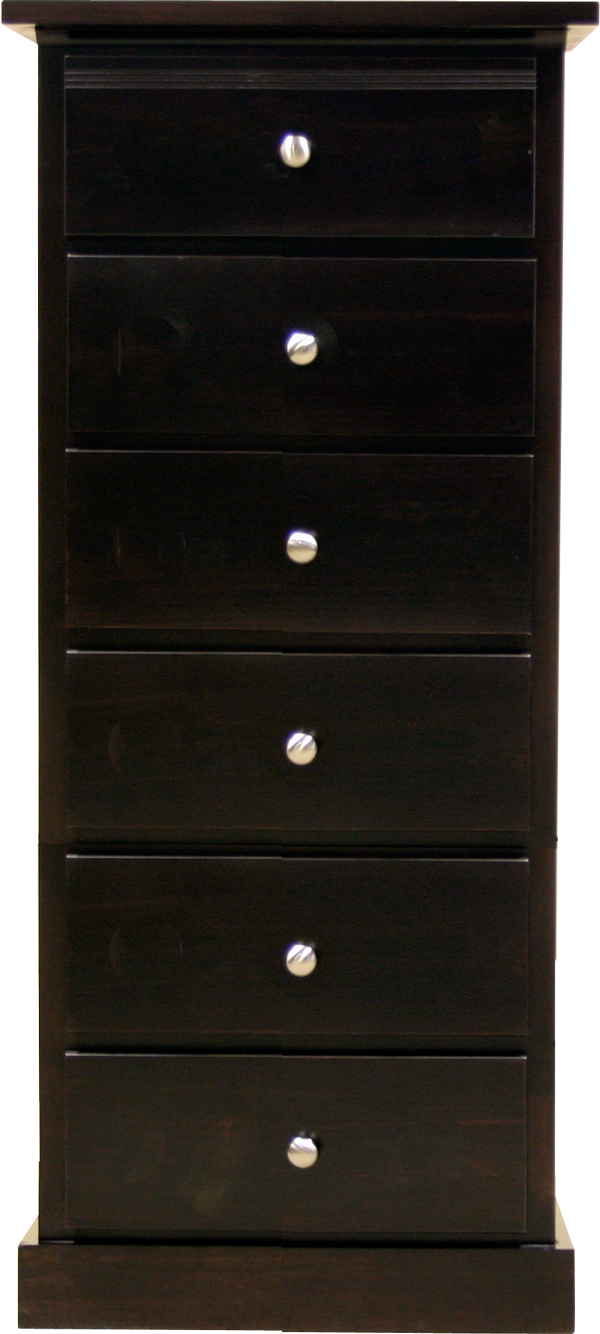 Pine chest for lingerie
