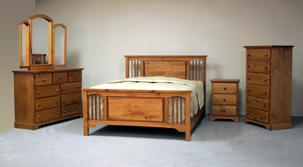 Pine bedroom furniture suite