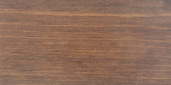 walnut stained