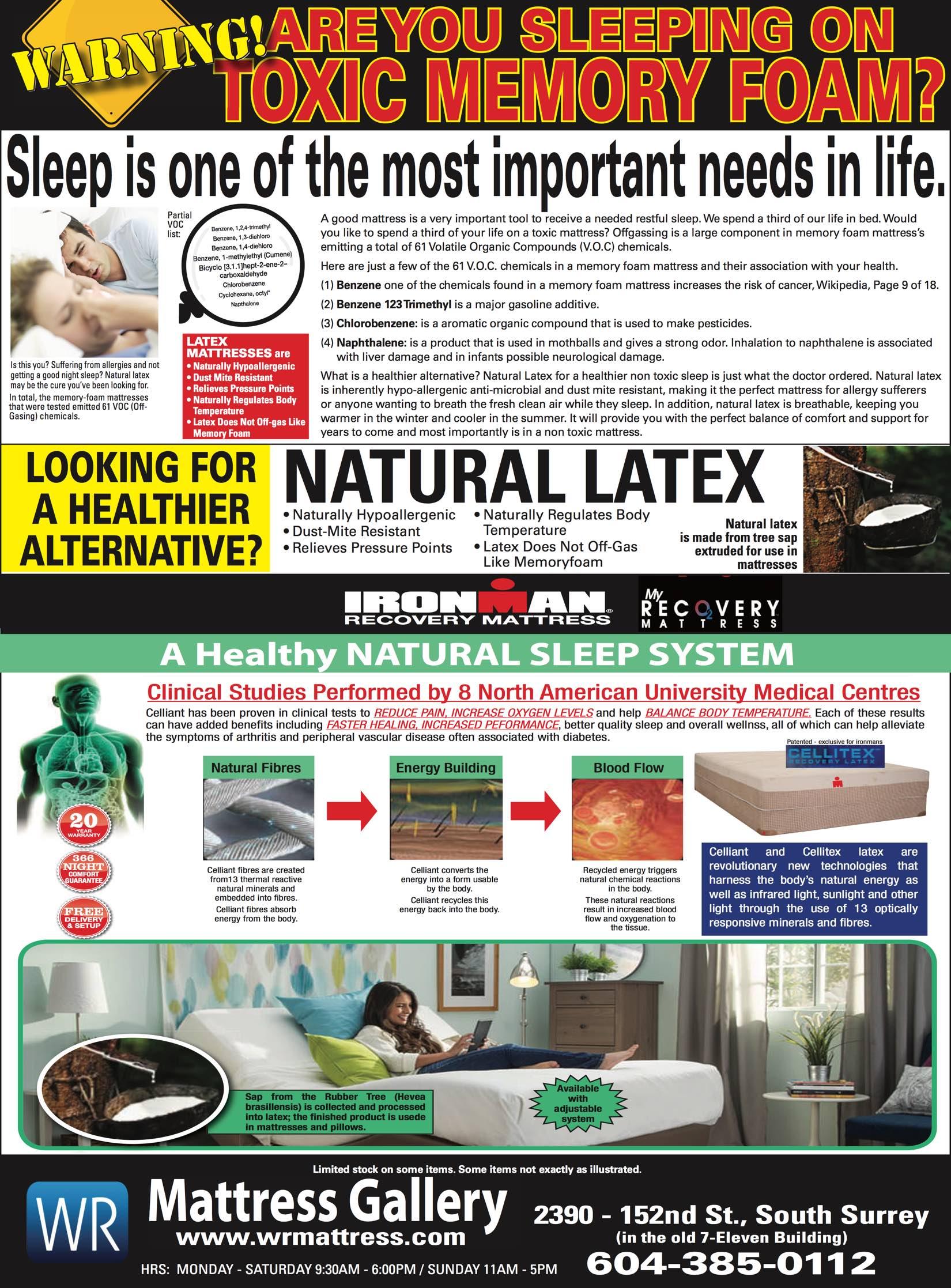 mattress ad special promo